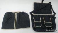 Legshield pocket Lambretta - Vespa - Black