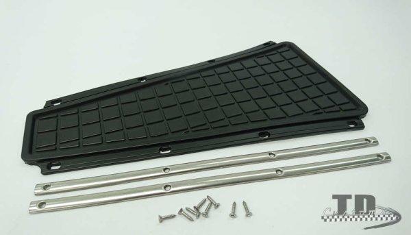 Doormat trapdoor set oem quality Vespa PX (till 1984th) - Black