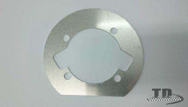 Fussdichtung Lambretta Smallblock 125-200 2mm Aluminium B-Ware